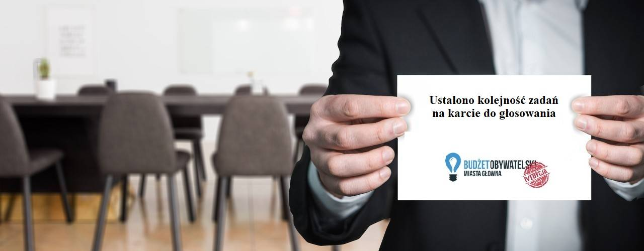 IV edycja Budżetu Obywatelskiego Miasta Głowna na 2020 rok ˗ lista zadań